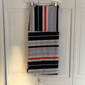 Lululemon Vinyasa scarf striped.